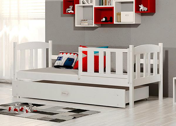 Детская кровать с ящиком 80x184 cm + матрас TF-137714