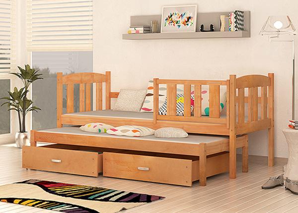 2-местная детская кровать 80x184 cm + матрасы TF-137716
