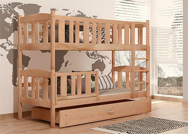 Двухъярусная кровать 80x184 cm + матрасы TF-137726