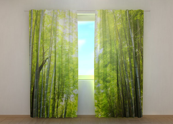 Затемняющая штора Bamboo Forest at Sunset ED-137840