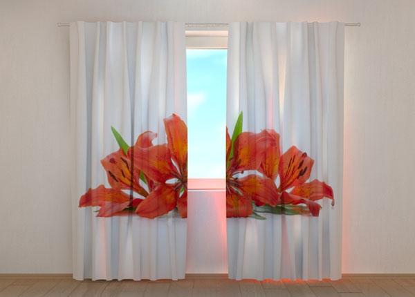 Полузатемняющая штора Fiery Lilies ED-137846