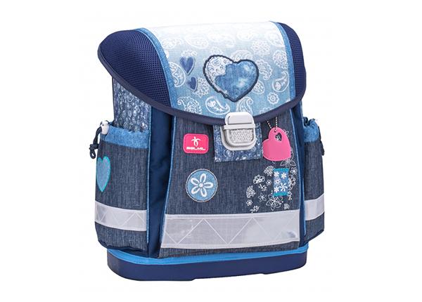 Школьный ранец Belmil Jeans Mix HC-137930