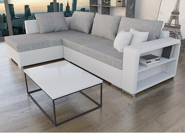 Угловой диван-кровать с ящиком ON-138204