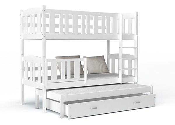 3-местная двухъярусная кровать 80x184 cm + матрасы TF-138287