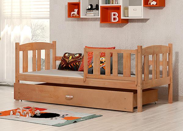 Детская кровать с ящиком 80x184 cm + матрас TF-138292