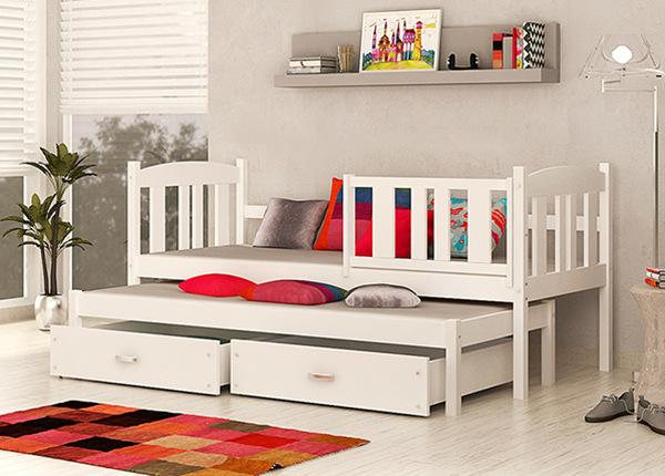 2-местная детская кровать 80x184 cm + матрасы TF-138293