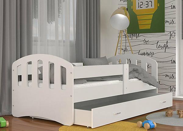 Детская кровать с ящиком 80x160 cm + матрас TF-138295