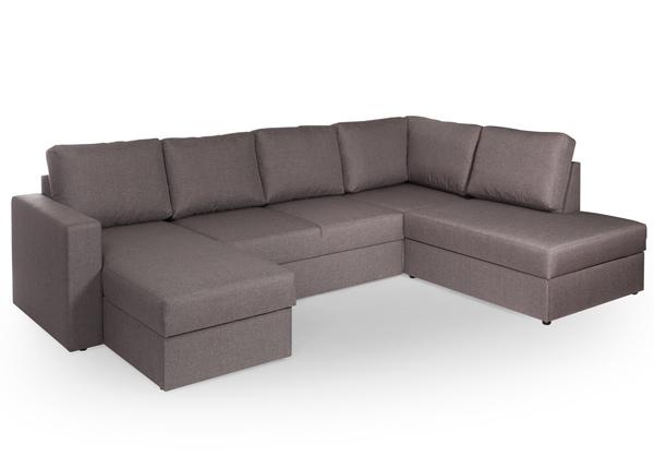 Угловой диван-кровать с двумя ящиками Ronny VR-138297
