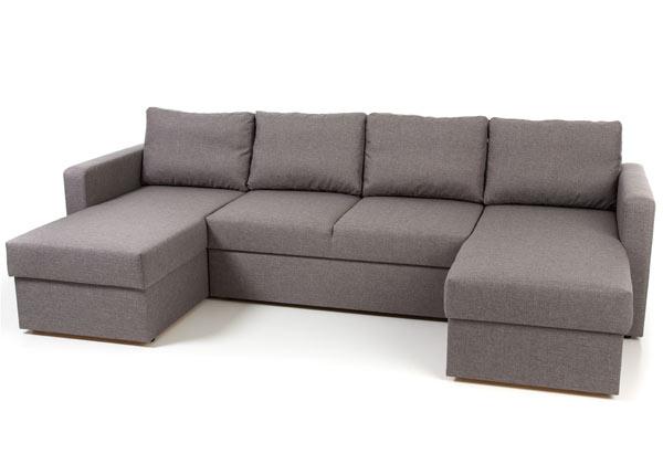 Угловой диван-кровать с двумя ящиками Mia VR-138298