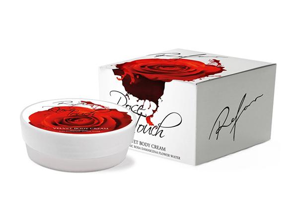 Бархатистый крем для тела Rose Touch TQ-138602