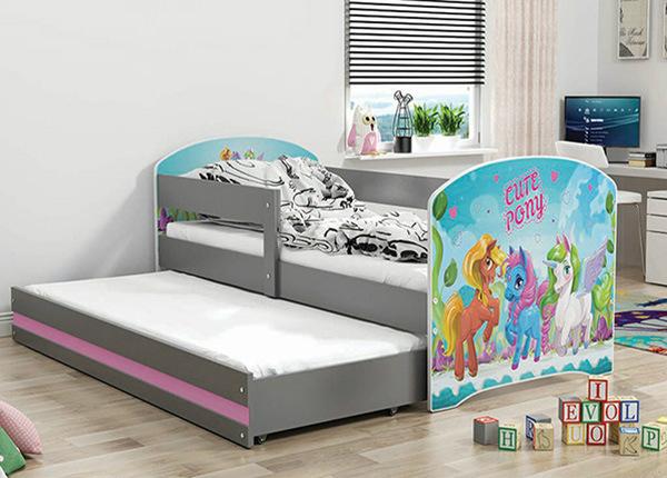 2-местная детская кровать 80x160 cm + матрасы TF-139019