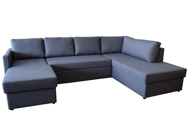 Угловой диван-кровать с двумя ящиками Vegas