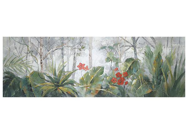 Масляная картина Деревья / пальмовые листья 50x150 см EV-139370