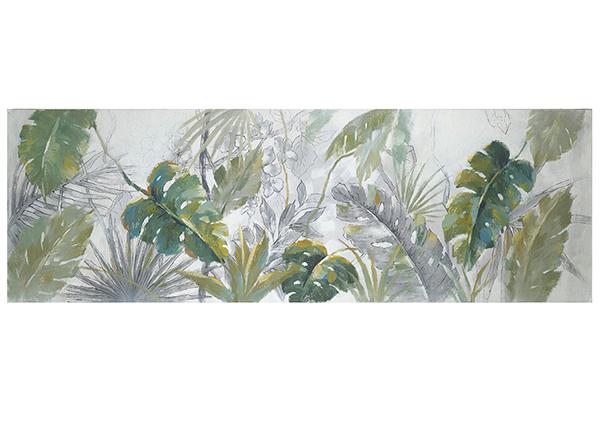 Масляная картина Пальмовый лист 50x150 см EV-139372