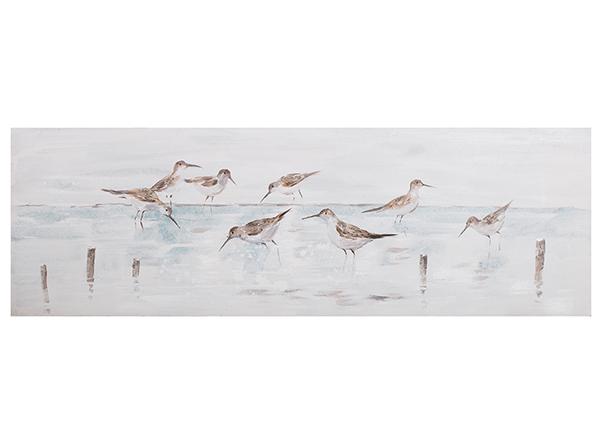 Масляная картина Птицы 50x150 cm EV-139379