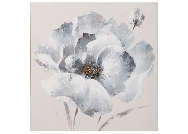 """Масляная картина """"Белый цветок"""" 60x60 cm EV-139444"""
