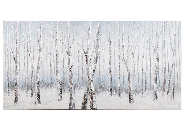 Масляная картина Березовый лес 70x140 cm EV-139449