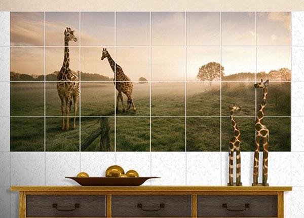 Наклейки на плитку Surreal Giraffes 60x120 cm