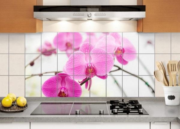 Наклейки на плитку Close-up of orchid 60x120 cm