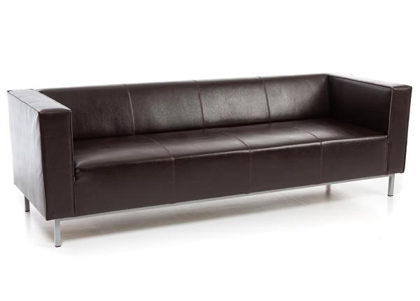 3-местный кожаный диван Office Pluss VR-139887