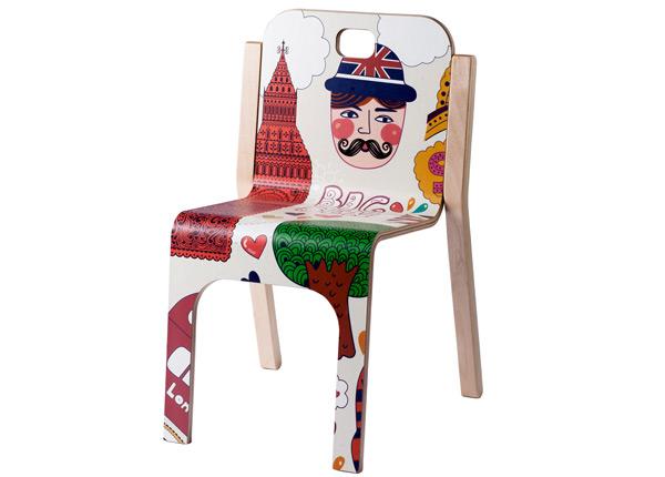 Детский стул Tommy 2 London h 57/31 cm TO-139897