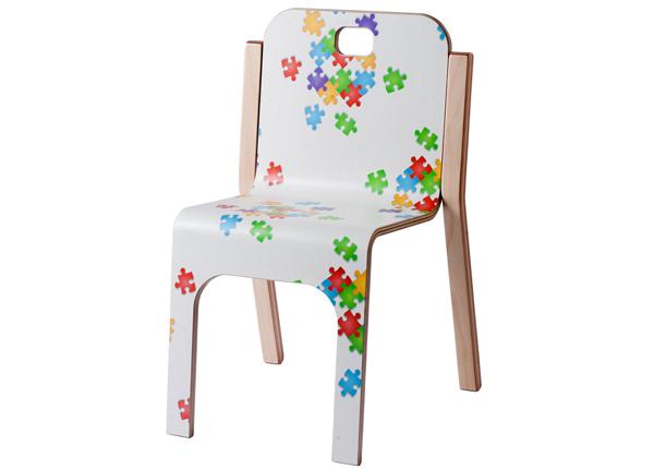 Детский стул Tommy 3 Puzzle h 57/35 cm TO-139903