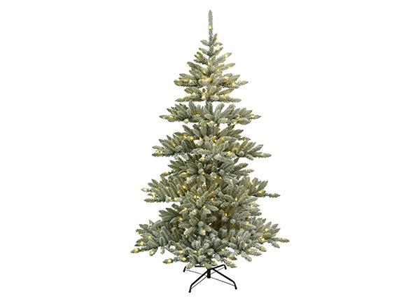 Искусственная елка с LED лампочками и снегом Arvika 210 cm AA-139948