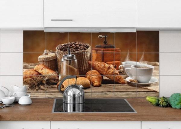 Наклейки на плитку Breakfast table 60x120 cm ED-139957