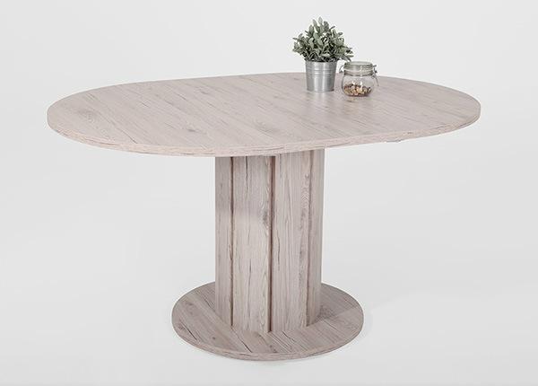 Удлиняющийся обеденный стол Luna Ø100 cm SM-139996