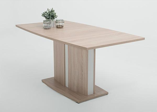 Удлиняющийся обеденный стол May 90x160/200 cm SM-139998