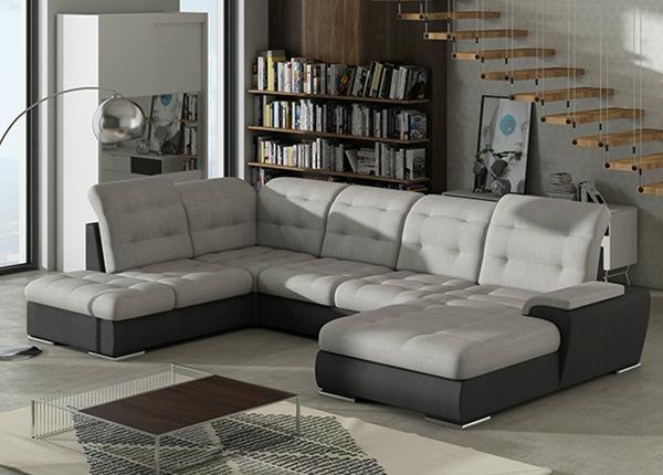 Угловой диван-кровать с ящиком Combi-6 TF-140411