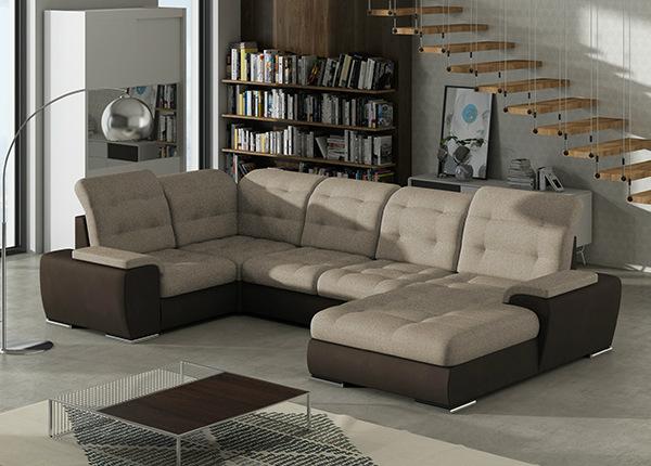 Угловой диван-кровать с ящиком Combi-1 TF-140412