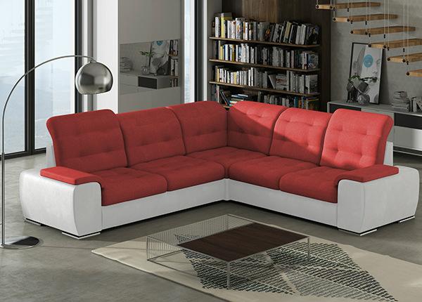 Угловой диван-кровать с ящиком Combi-3 TF-140417