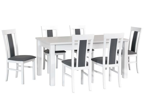 Удлиняющийся обеденный стол + 6 стула CM-140515