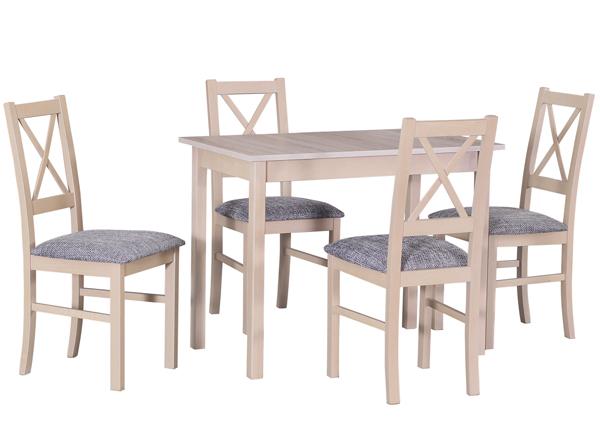 Обеденный стол + 4 стула CM-140523