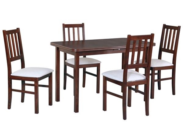 Удлиняющийся обеденный стол + 4 стула CM-140525