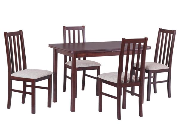 Удлиняющийся обеденный стол + 4 стула CM-140591