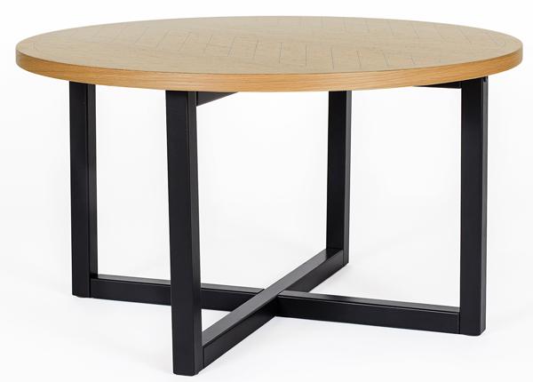Mora журнальный стол Ø 80 cm Round Herringbone Print WO-140698