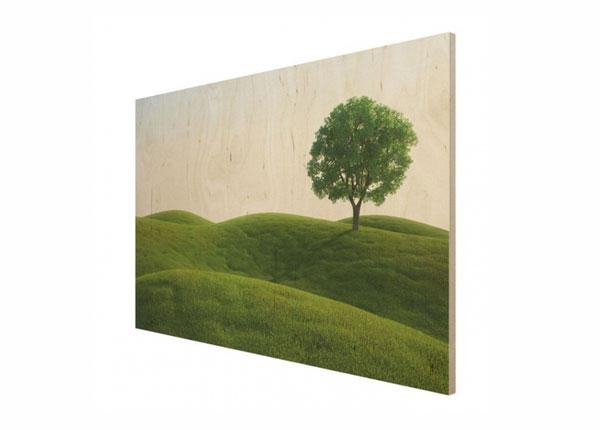 Настенная картина на древесине Green peace ED-140714