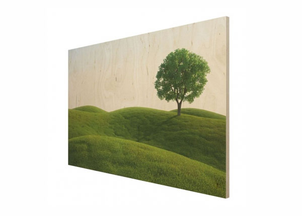Настенная картина на древесине Green peace ED-140720