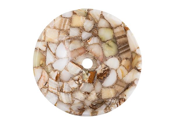 Умывальник из полудрагоценного камня GM-140866