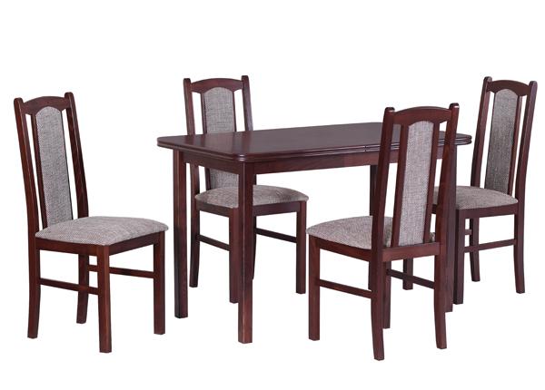 Удлиняющийся обеденный стол + 4 стула CM-140901