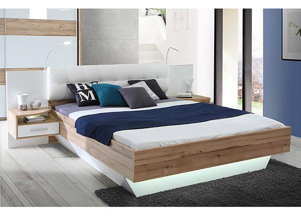 Кровать 160x200 cm + 2 тумбы TF-140931