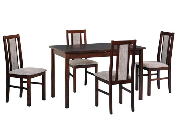 Обеденный стол + 4 стула CM-140942