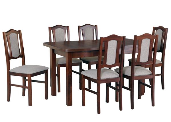 Удлиняющийся обеденный стол + 6 стула CM-141046