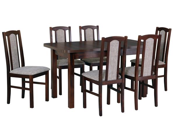 Удлиняющийся обеденный стол + 6 стула CM-141068