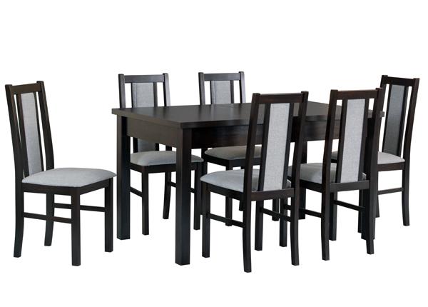 Удлиняющийся обеденный стол + 6 стульев CM-141132