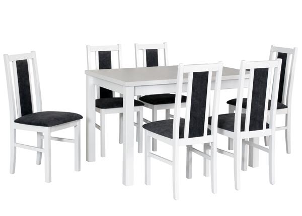 Удлиняющийся обеденный стол + 6 стульев CM-141138