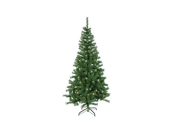Искусственная елка Kalix Twinkle c LED лампочками 195 см AA-141185