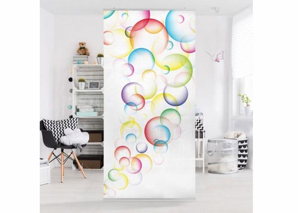 Панельная штора Rainbow Bubbles 250x120 см ED-141202